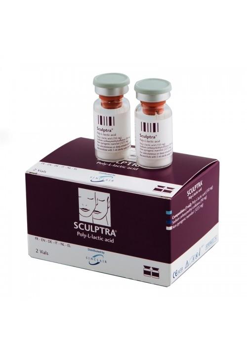 Sculptra poly-L-lactic acid 1 vials