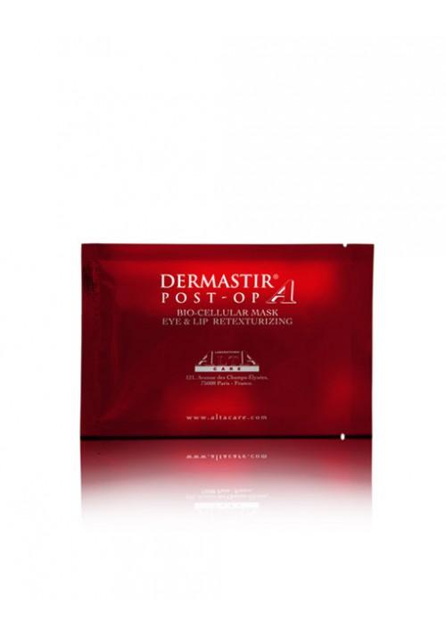 Dermastir Post-Op Bio-zelluläre Aufbaumaske – Augen- und Lippenkontur