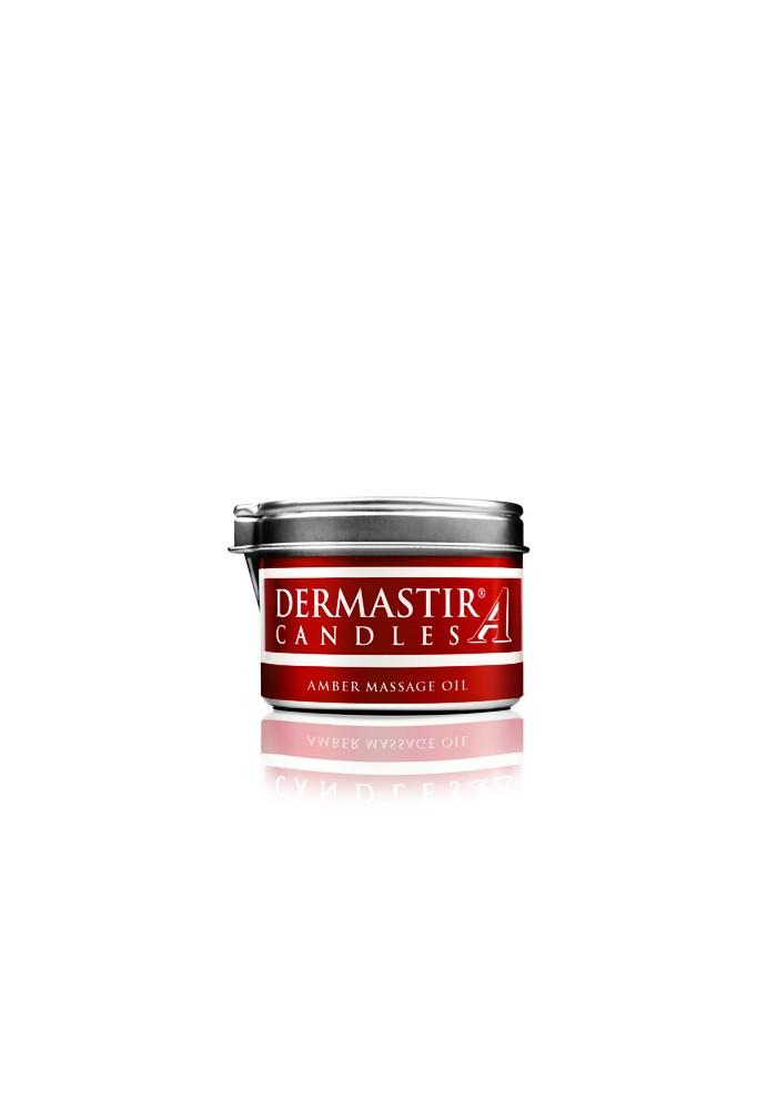 Dermastir Massage Duftölkerze – Amber 35 g