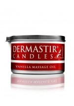 Dermastir Massage Duftölkerze – Vanille 150 g