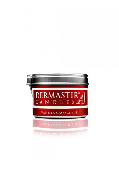 Dermastir Massage Duftölkerze – Vanille 35 g