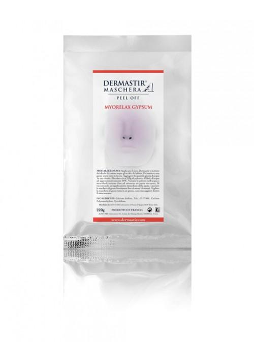 Dermastir Peel Off Maske – Myorelaxierende Gipsmaske