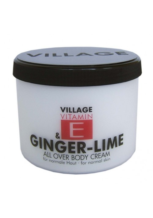 "Village Bodycreme Vitamin E ""GINGER-LIME"""