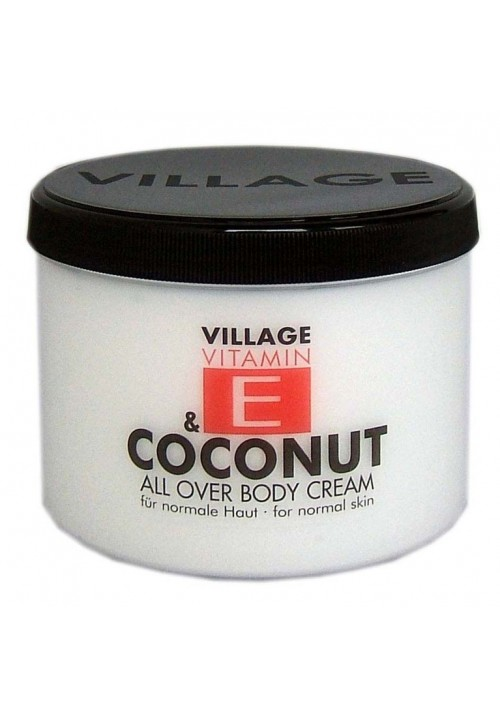 "Village Bodycreme Vitamin E ""COCONUT"""