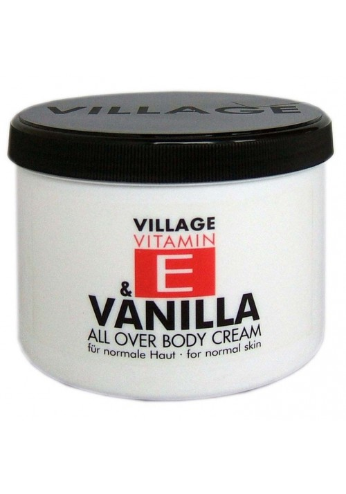 "Village Bodycreme Vitamin E ""VANILLA"""