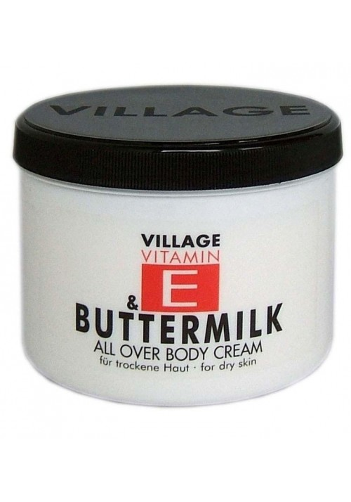 "Village Bodycreme Vitamin E ""BUTTERMILK"""
