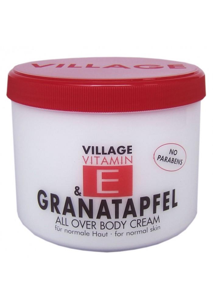 """Village Bodycreme Vitamin E """"GRANATAPFEL"""""""