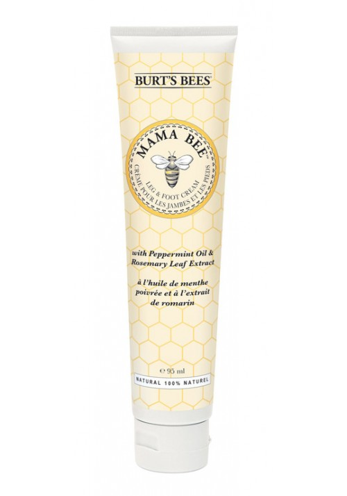 Foot cream with Peppermint oil & Rosemary Leaf Extract Burt's Bees Mama Bee