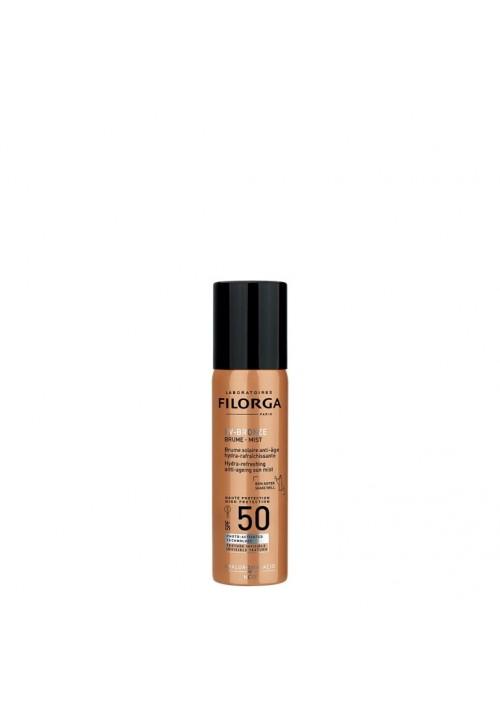 UV-BRONZE-MIST SPF50 + Filorga