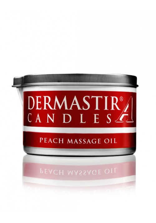 Dermastir Massage Duftölkerze – Pfirsich 150 g
