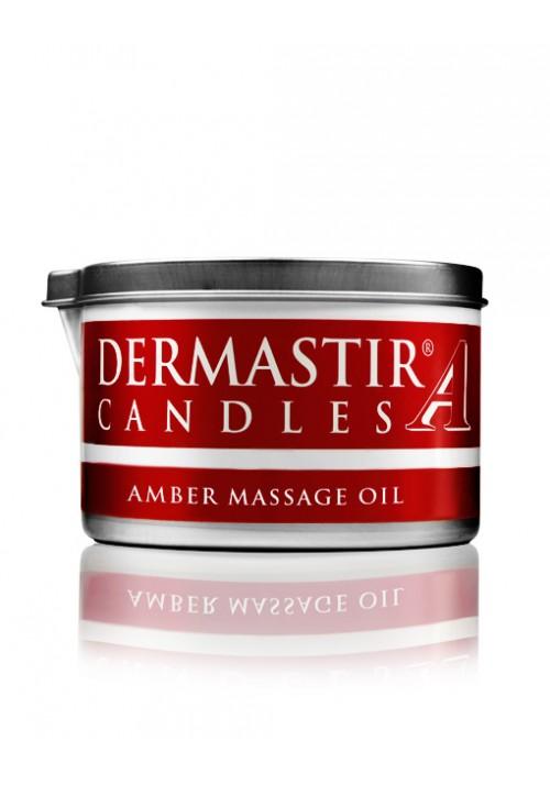 Dermastir Massage Duftölkerze – Amber 150 g