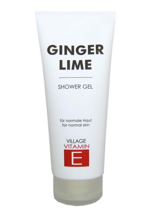 """Village Bodycreme Vitamin E """"GINGER-LIME """" SHOWER GEL"""