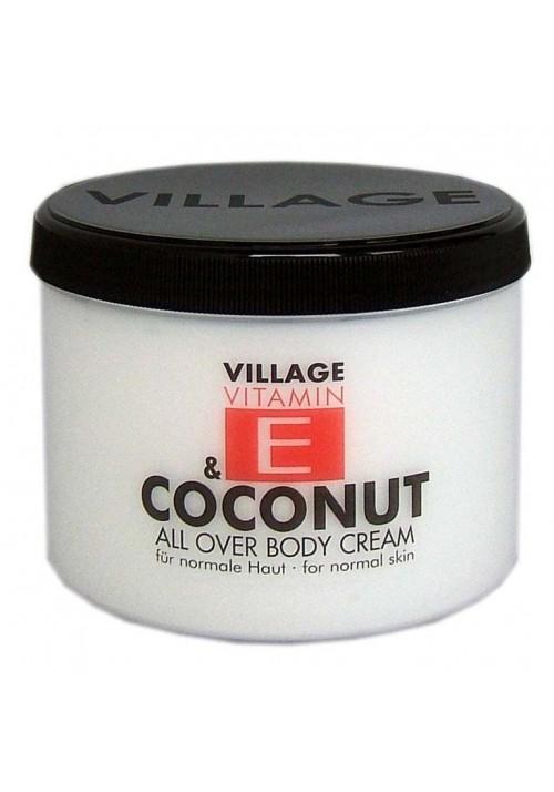 """Village Bodycreme Vitamin E """"COCONUT"""""""