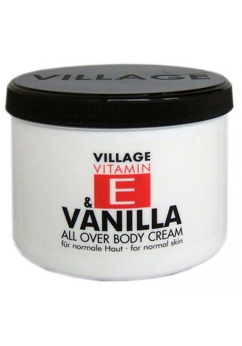 """Village Bodycreme Vitamin E """"VANILLA"""""""
