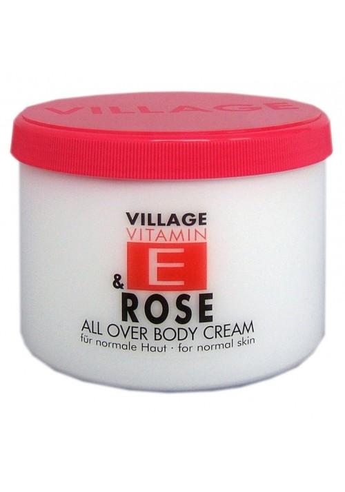 """Village Bodycreme Vitamin E """"ROSE"""""""