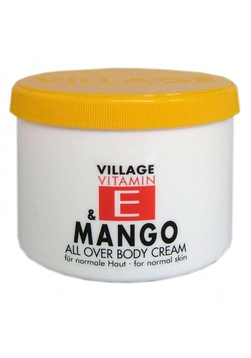 """Village Bodycreme Vitamin E """"MANGO"""""""