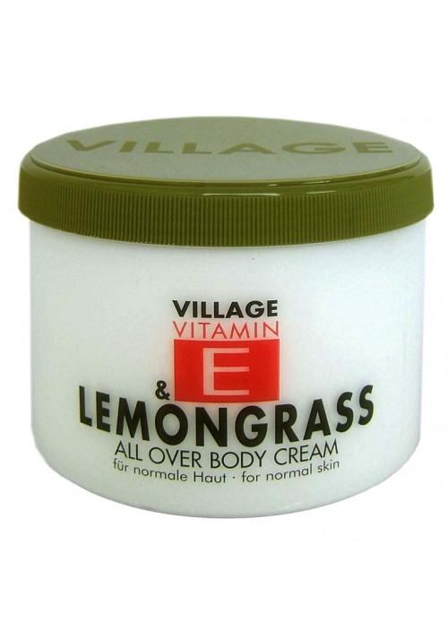 "Village Bodycreme Vitamin E ""LEMONGRASS"""