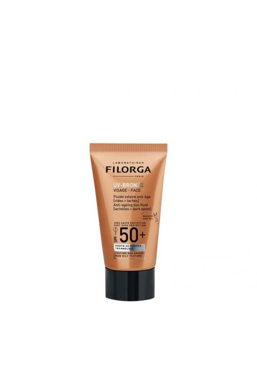 UV-BRONZE GESICHT SPF50 + Filorga