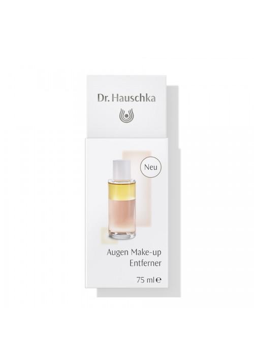 Augen Make-up Entferner mit zwei Bio-Baumwolle Abschminkpads  Dr. Hauschka